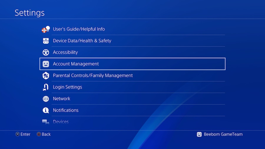 Configuración de PS4 para PS4 Remote Play00005