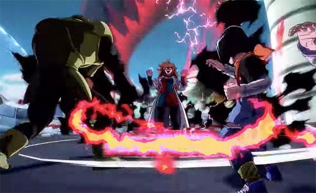 Dragon Ball Fighterz скриншот 2
