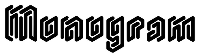 monogram rounded font