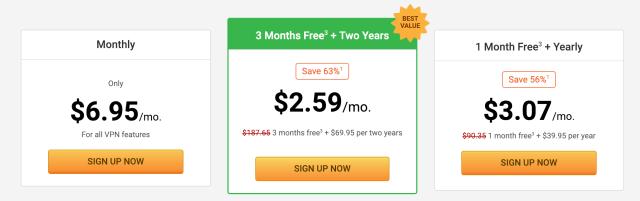 лучшие бесплатные услуги VPN частный доступ в Интернет