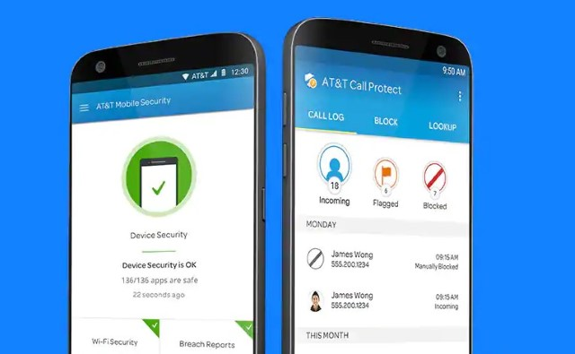 1. AT & T - Защита звонков