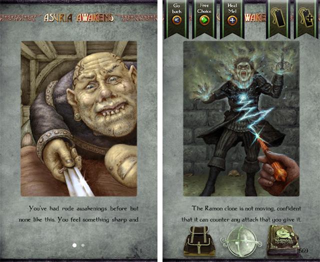 Gamebook Adventures 12 Пробуждение Асурии