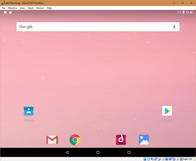 android x86 screenshot