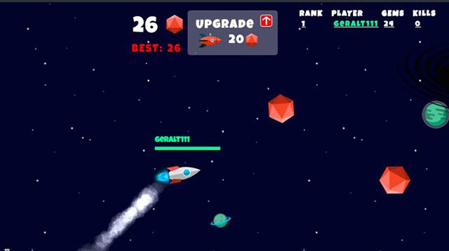 скриншот космического ракеты-носителя