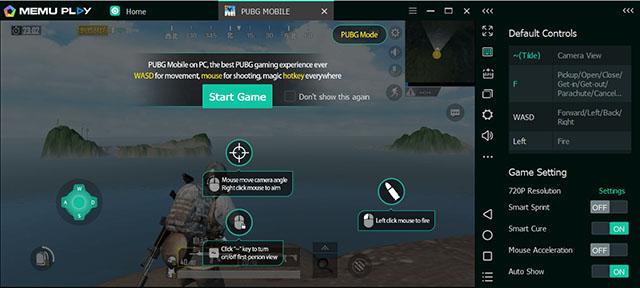 memu play pubg скриншот