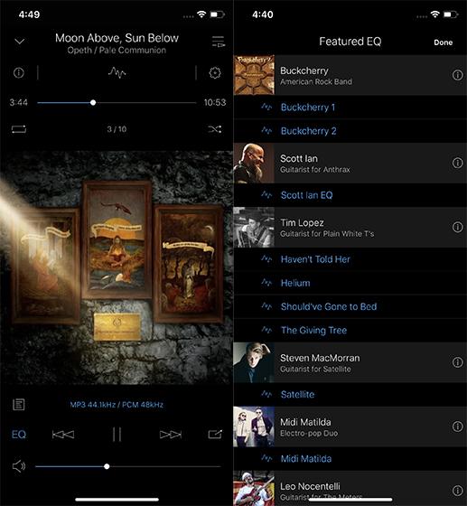 Приложения для iPhone Music Player Onkyo