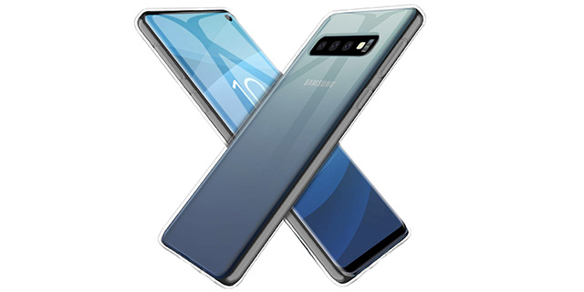 Uniqueme тонкий прозрачный чехол для Galaxy S10