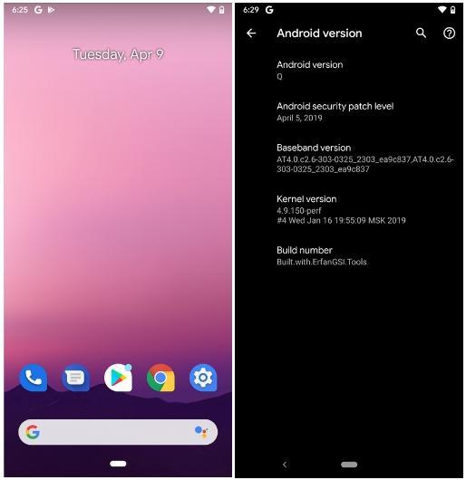 Apakah Android Q GSI Dapat Digunakan 1