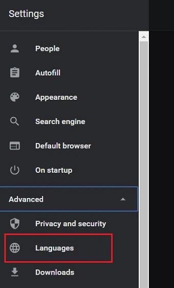 Изменить язык в Google Chrome (Windows, Linux и Chrome OS) 2