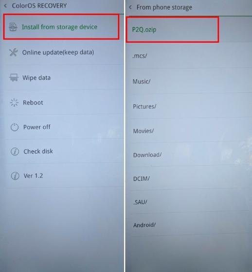 Шаги по установке Android Q Beta на Realme 3 Pro 3