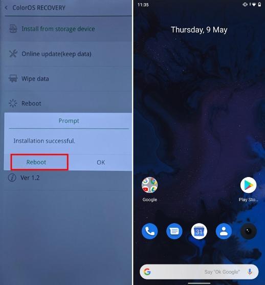 Шаги по установке Android Q Beta на Realme 3 Pro 5