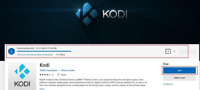 Обновление Kodi из магазина Microsoft (2)