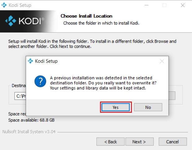 Обновите Kodi с официального сайта Kodi (4)