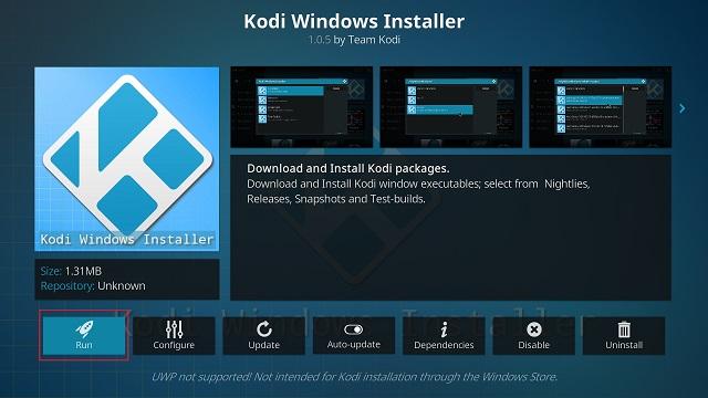 Обновление Kodi с помощью автономного дополнения (6)