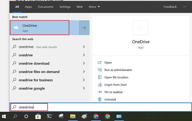 Copia de seguridad con OneDrive
