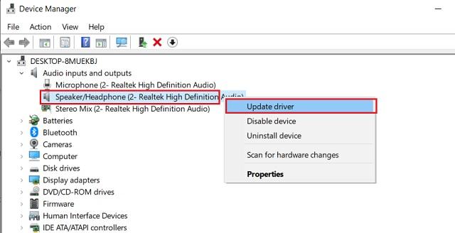 Исправление ошибки Realtek HD Audio Manager 2