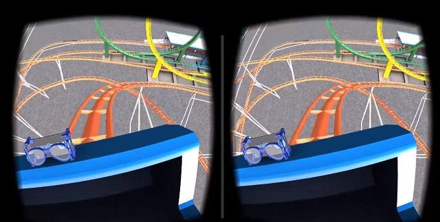 1. VR Roller Coaster лучшая игра vr без контроллера