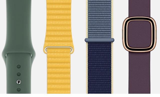 5. Официальные Apple Watch Series 5 Bands