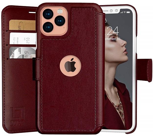 6. Lupa Flip Leather Case - лучшие кожаные чехлы для iPhone 11 pro