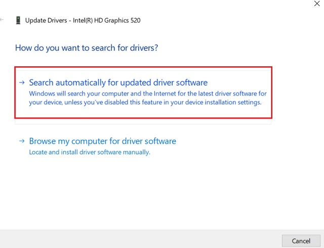 7. Обновление графического драйвера 3 YouTube не работает