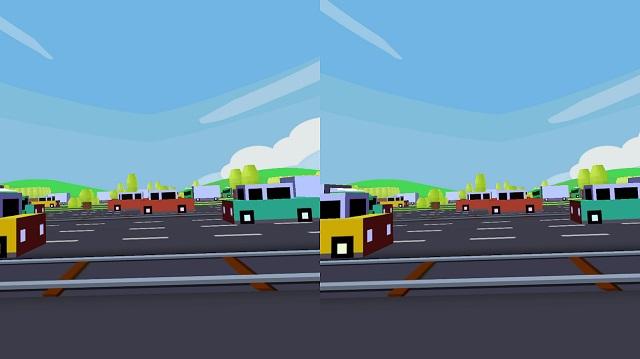 8. VR Street Jump лучшая вр игра без контроллера