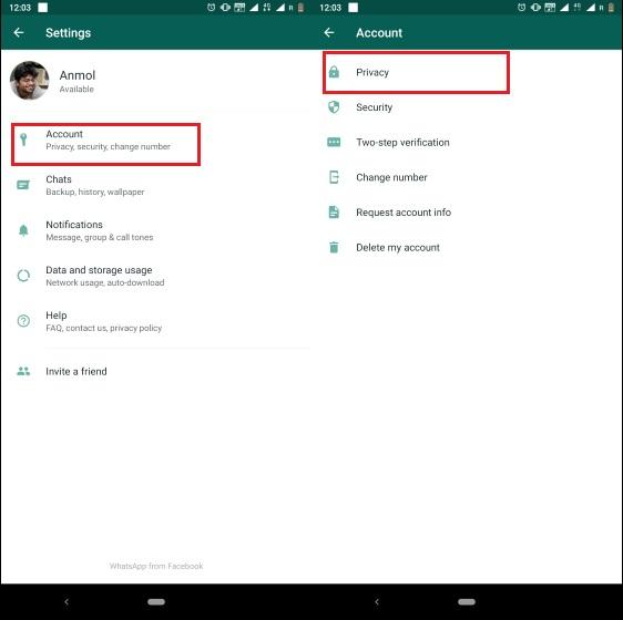 2. Habilite el bloqueo de huellas digitales en WhatsApp