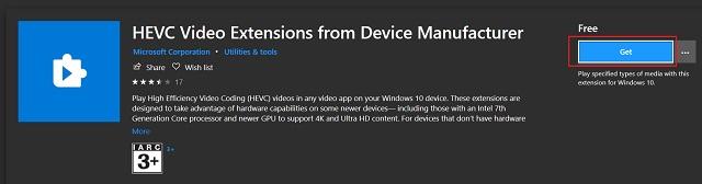 Включить поддержку файлов HEIC, HEIF и HEVC в Windows 10