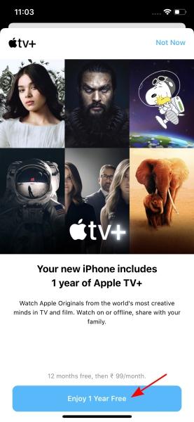 suscripción a apple tv +