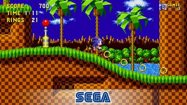 12. Sonic the Hedgehog ™ Classic - лучшие игры для Chromebook