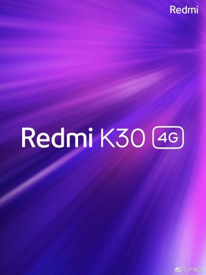 Redmi K30 - 4G variant