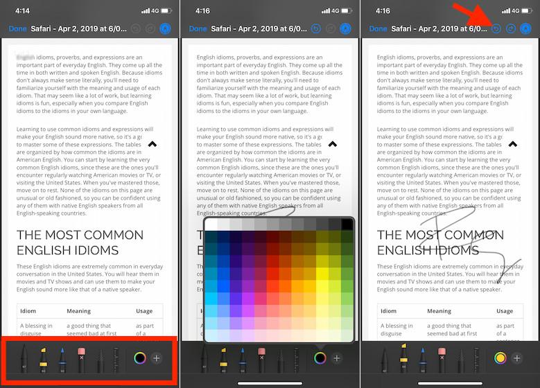 Anotar archivos PDF en iPhone y iPad