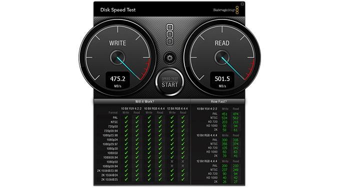 Bullet SSD Speed