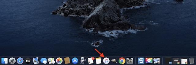 Inicie la aplicación Música en su Mac