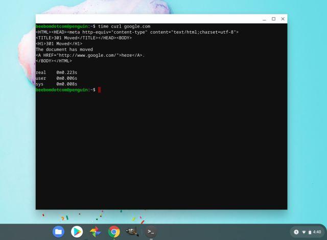Поддержка Linux на Chromebook