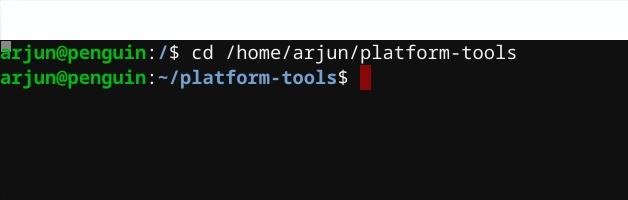 установить ADB на Linux