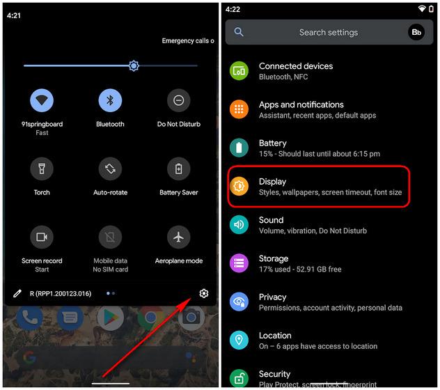 WA dark mode Android screenshot1 body
