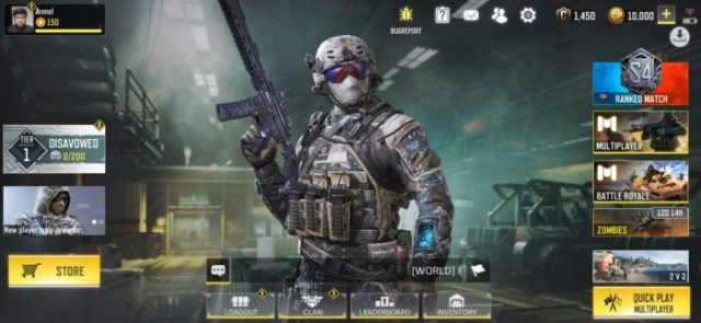 Call of Duty Mobile - new UI