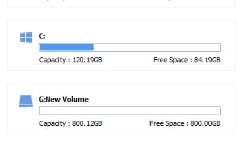 Comment étendre l'espace disque C sur Windows 10 3