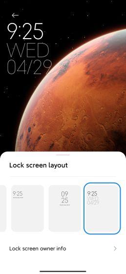 17. Блокировка экрана часов Best MIUI 12 Особенности