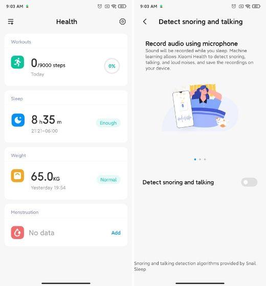 15. Новое приложение для здоровья Best MIUI 12 Особенности