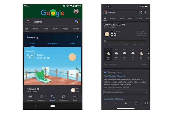 Google App Finally Gets 'Dark Mode' on iOS and Android | Beebom