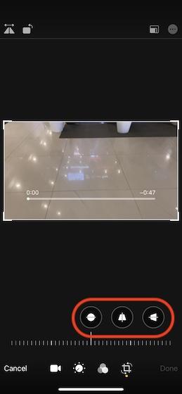 Usa las herramientas de alineación de video