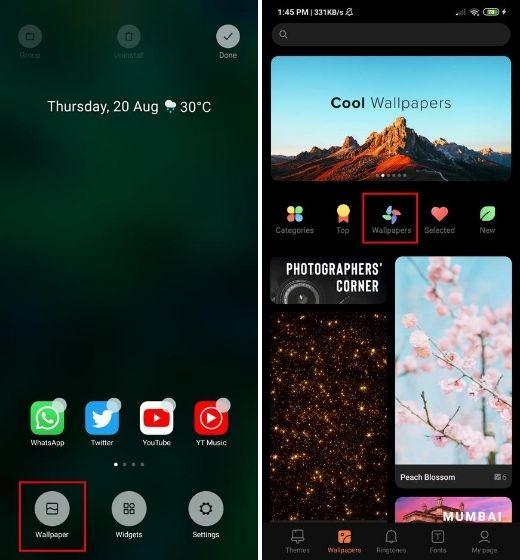 Установите Pixel 5 Live Wallpapers на MIUI и Realme UI