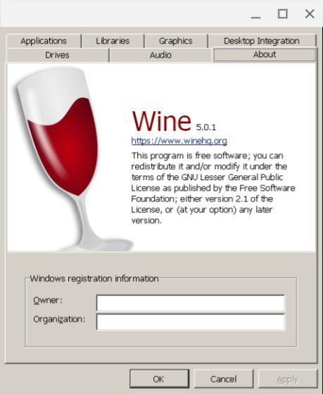 Instale Wine 5.0 en su Chromebook
