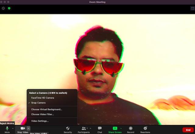 Usar cámara instantánea en zoom