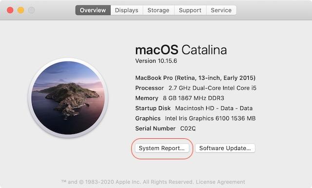 Проверьте конфигурацию ЦП Mac 3