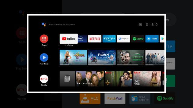 Reasignar el control remoto de Android TV