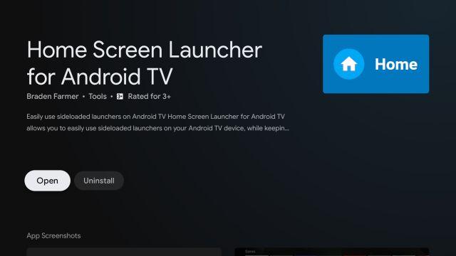 Installieren Sie Google TV auf Android TV