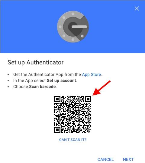 Сканировать штрих-код на сайте Google