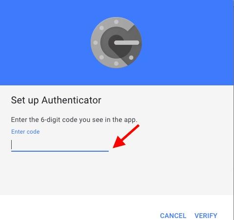 Код Transger Authenticator на ваш новый iPhone